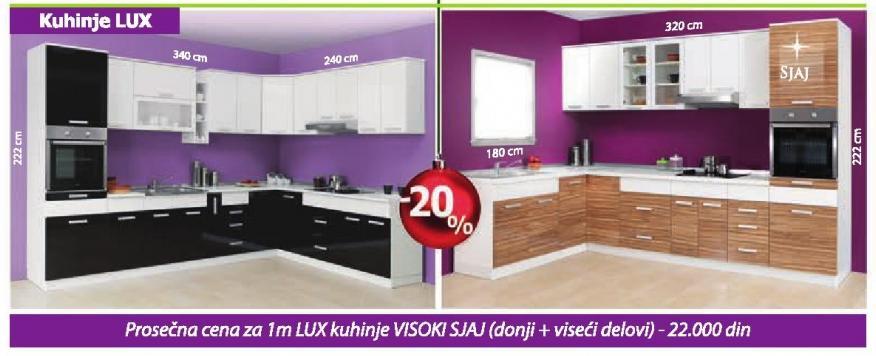 Kuhinje Lux