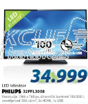 Televizor 32″ LED 32PFL3008