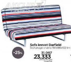 Sofa krevet Darfield
