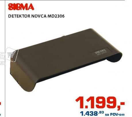 Detektor Novca Md2306