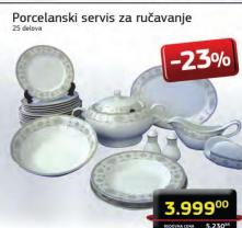Porcelanski servis za ručavanje