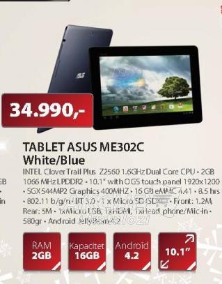 TABLET ME302C-1A055A
