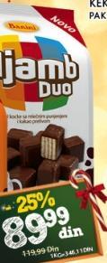 Napolitanke Duo mleko