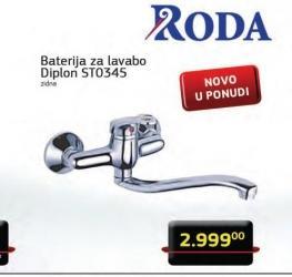 Baterija za lavabo