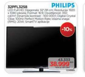 "Televizor LED 32"" 32PFL3258"