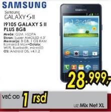 Mobilni telefon i9105 Galaxy S II Plus 8Gb