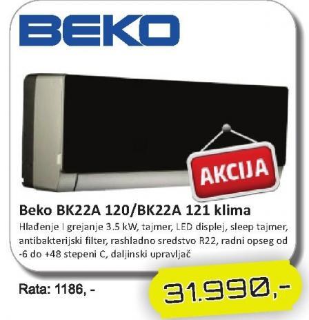Klima BK22A 120/BK22A 121