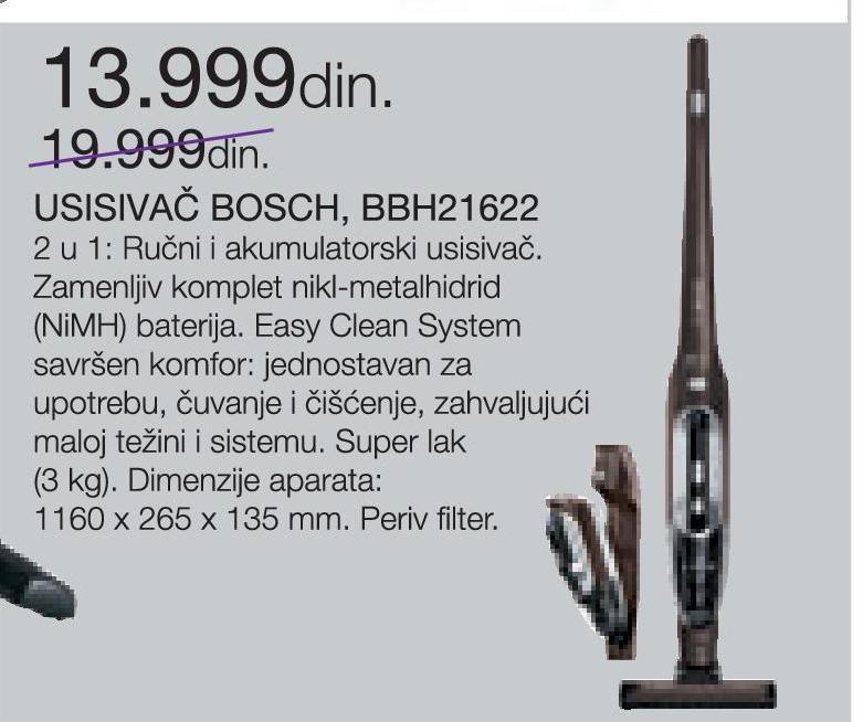 Usisivač BBH21622
