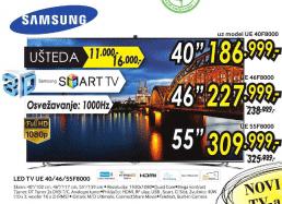 3D TV LED LCD UE-55F8000