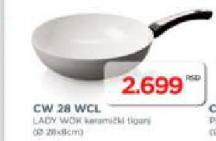 Keramički tiganj CW 28WCL
