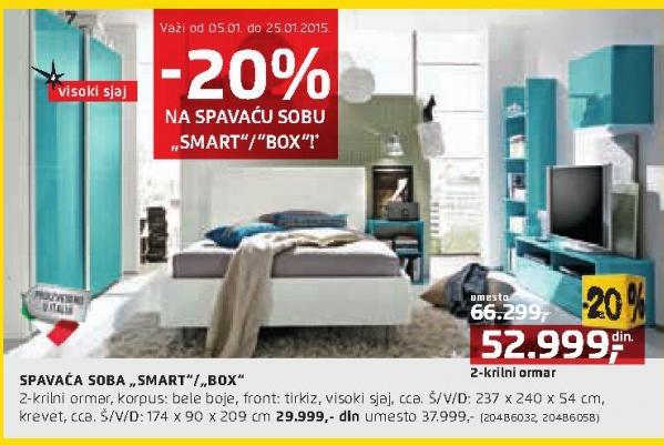 Ormar spavaće sobe Smart/Box