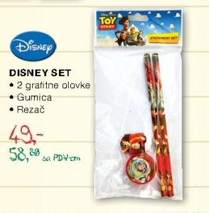Set olovki Disney