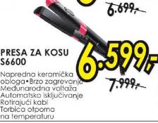 Presa za kosu S6600