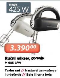 Ručni Mikser M 605 B/W