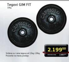 Tegovi GIM Fit 10kg
