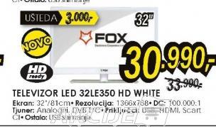 Televizor LED LCD 32LE350 WHITE