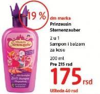 Šampon i balsam za kosu