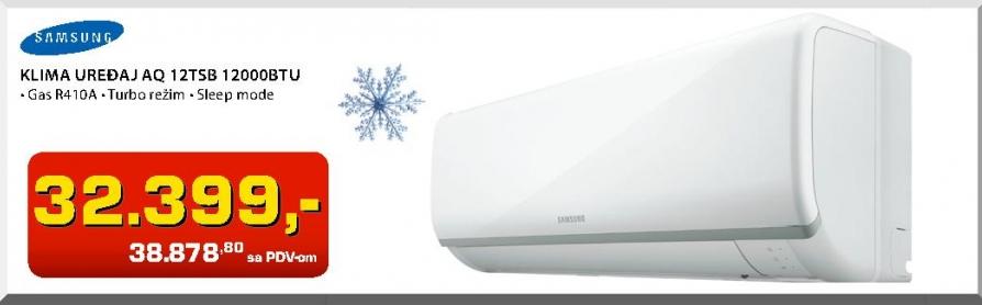 Klima uređaj AQ12TSB 12000BTU