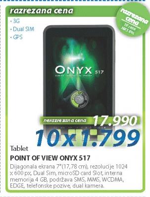 Tablet ONYX 517