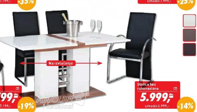 Trpezarijska stolica ''Flex''