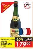 Jabukovo vino Cidre Bretagne