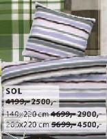 Pamučna posteljina SOL