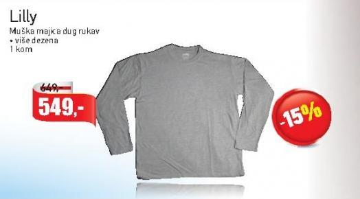 Majica muška dug rukav
