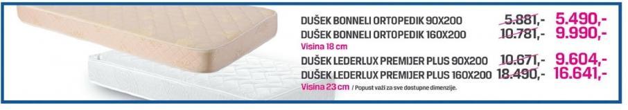 Dušek Bonneli Ortopedik 160x200