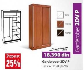 Garderober 2DVP