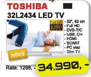 """Televizor LED 32"""" 32l2434"""