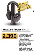 Wireless slušalice sa mikrofonom OMEGA FH-8898FM