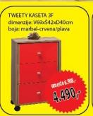Kaseta Tweety 3F