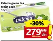 Toalet papir 3sl green tea