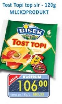 Topljeni tost sir