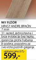 Laminat My Floor Hrast Andre Braon