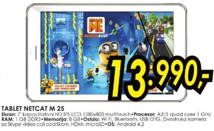 Tablet Netcat M 25