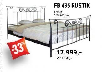 Krevet Fb 435 Rustik