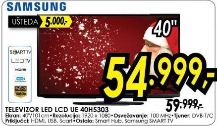 "Televizor LED 40"" Ue40h5303"