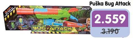 Igračka puška Bug Attack