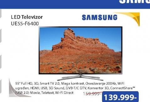 Televizor LED UE55-F6400