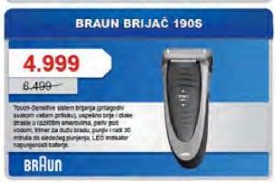 Aparat za brijanje 190