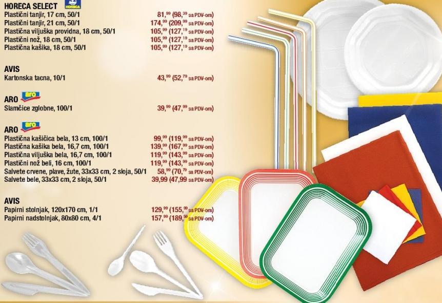 Plastični tanjir