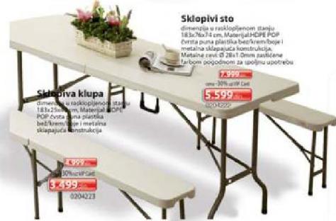 Sklopiv sto