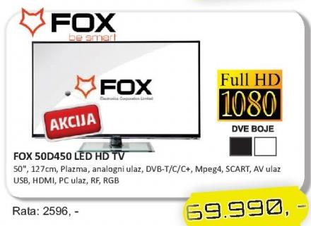 """Televizor LED 50"""" 50D450"""