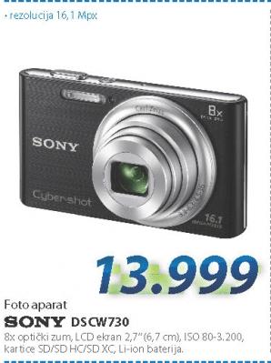 Fotoaparat DSCW730