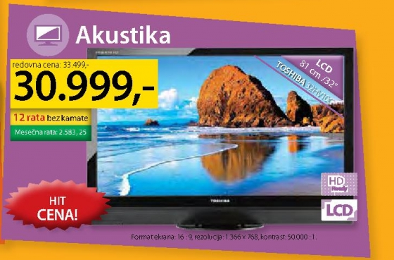 LCD televizor 32HV10C