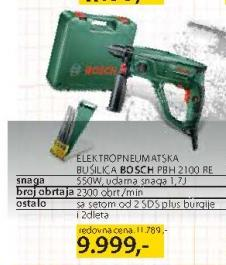 Elektropneumatska Bušilica PBH 2100 Re