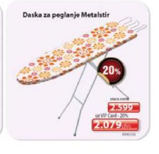Daska za peglanje MetalIstir