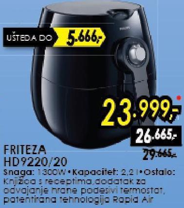 Friteza HD9220/50