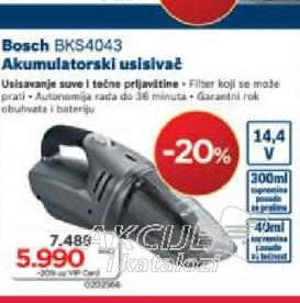 Ručni usisivač  BKS4043